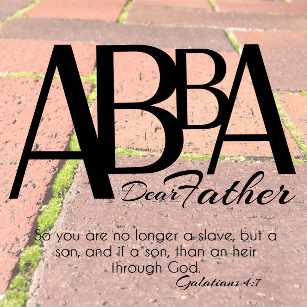 Abba-Dear Father (Square)