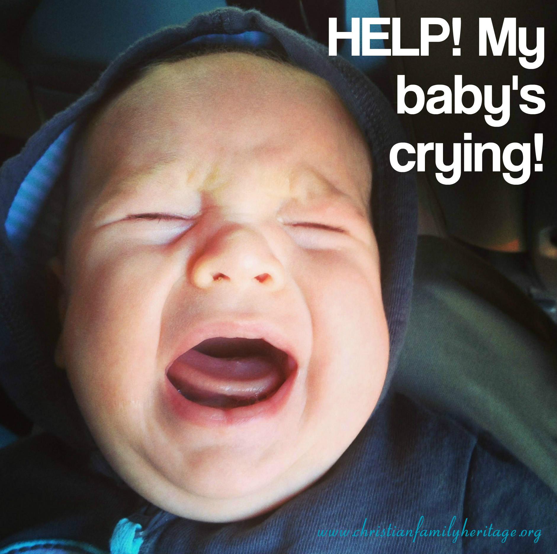 Help my baby's crying w web