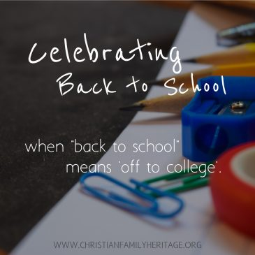 When 'Back-to-School' Means 'Off-to-College'