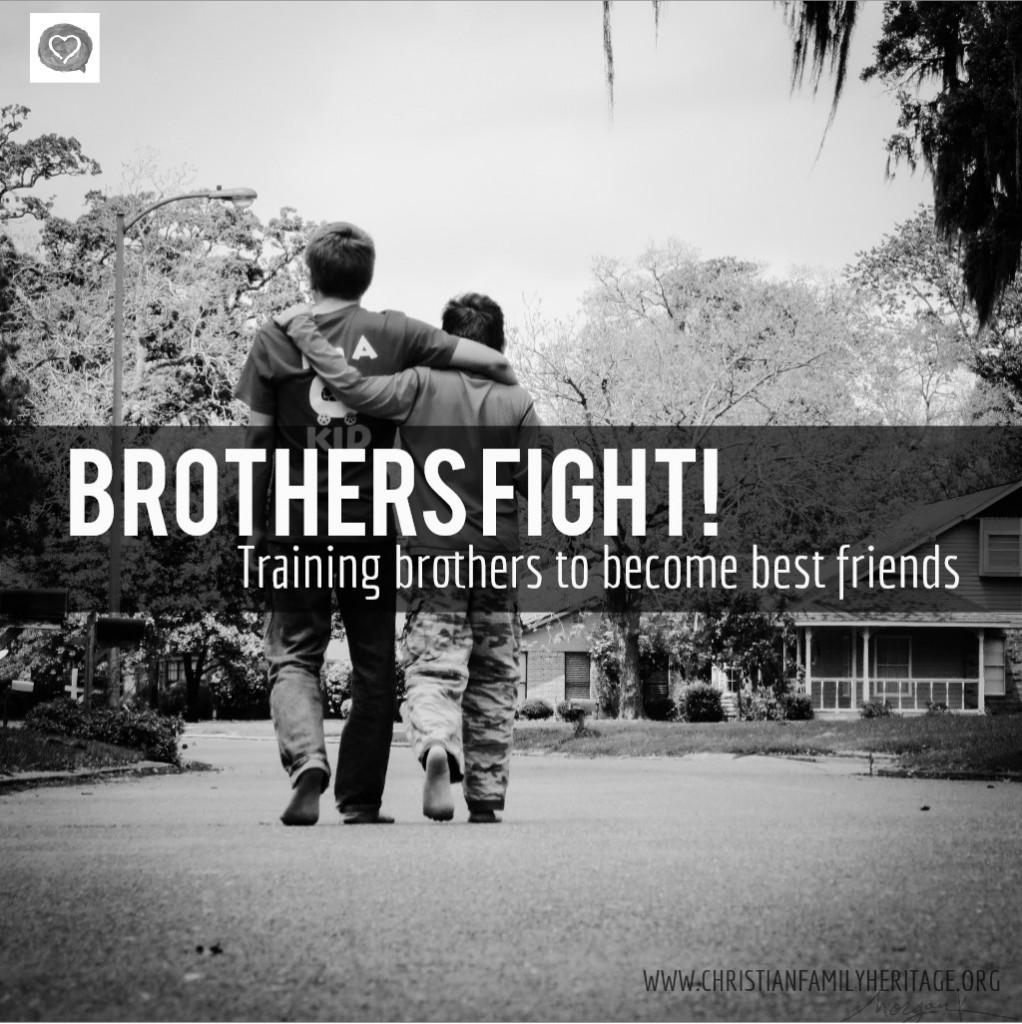 Brothers Fight! B&W 1x1[1]