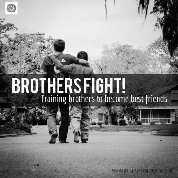 Brothers Fight…to best friends