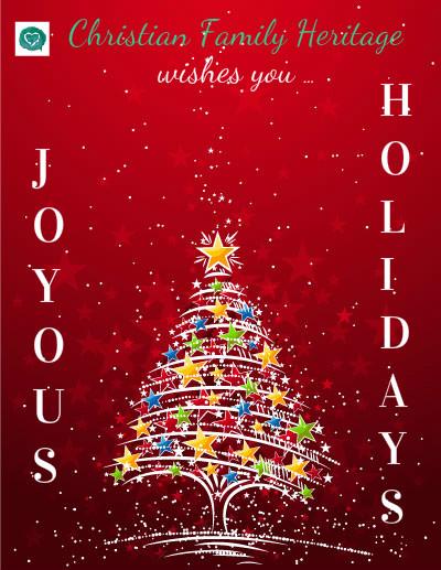 joyous holidays