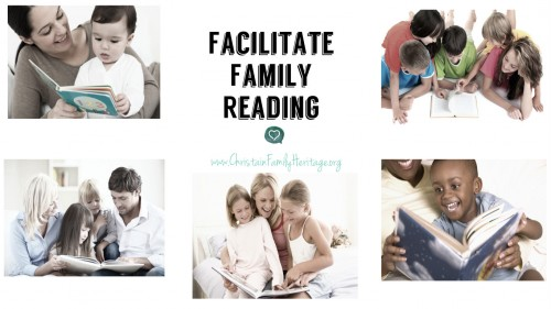 Read Me a Story – Reading List for Family Reading Times