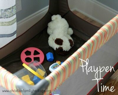 Playpen Time, Part 1- The Benefits by Bethann Plumberg
