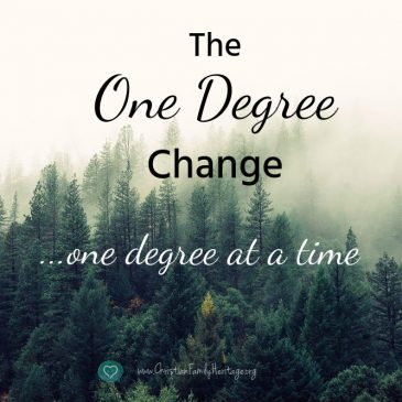 The One Degree of Change by Susan Ekhoff