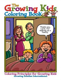 Growing Kids God's Way Coloring Book