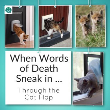 When Words of Death Sneak in Through the Cat Flap!