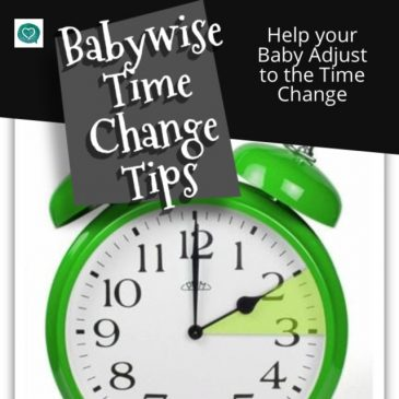 Help Your Baby Adjust to the Time Change
