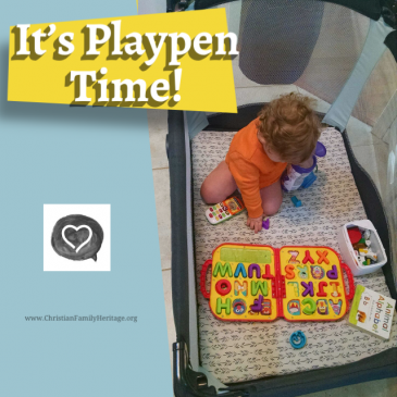 It's Playpen Time!