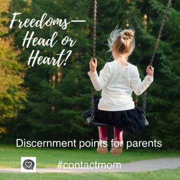 Freedoms – Head or Heart?