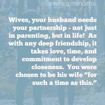 A Wife's Mandate