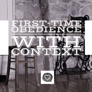 First-Time Obedience with Context