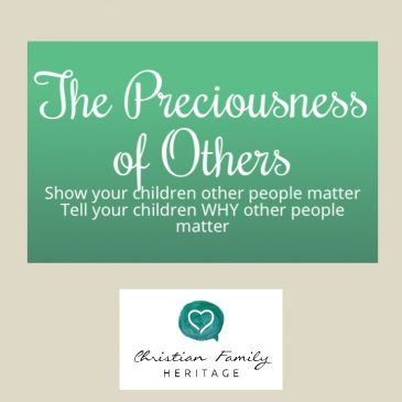 The Preciousness of Others