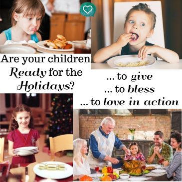 Are Your Children Ready For the Holidays?