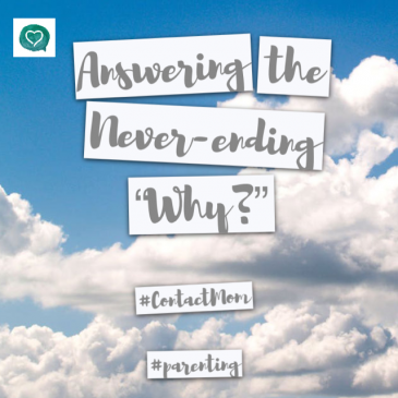 "Answering the Never-ending ""Why?"""